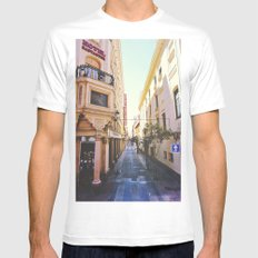 Hotel Santander SMALL Mens Fitted Tee White