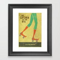 the catcher in the rye Framed Art Print