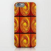 Abstract Collage Orange Art. iPhone 6 Slim Case