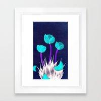 Eau De I; Kenzo Flower Framed Art Print