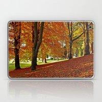 Blanket of leaves Laptop & iPad Skin