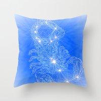 Scorpio, constellation series Throw Pillow