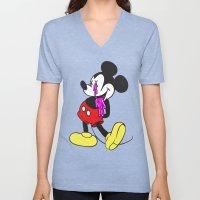 Mickey?! Unisex V-Neck