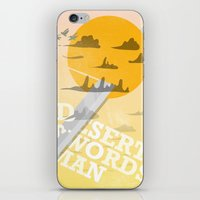 Desert Swordsman iPhone & iPod Skin