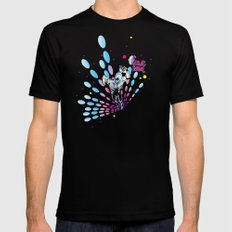 Cosmic Sentinel Black SMALL Mens Fitted Tee