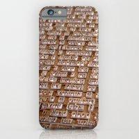 iPhone & iPod Case featuring Letterpress #1 by Alexis Kadonsky