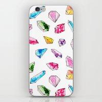 Watercolor Gem Stone  iPhone & iPod Skin