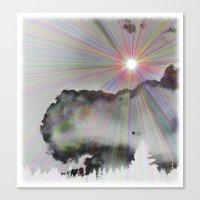 Solar Sky Canvas Print