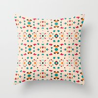 Kaleidoscope Number 2 Throw Pillow