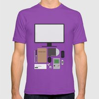 Awesome Stuff. Mens Fitted Tee Ultraviolet SMALL