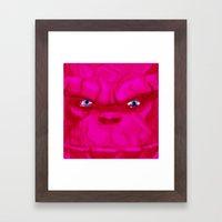 Post-it Portrait: Ben Gr… Framed Art Print