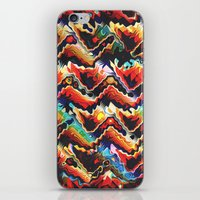 Colorful Geometric Motif iPhone & iPod Skin