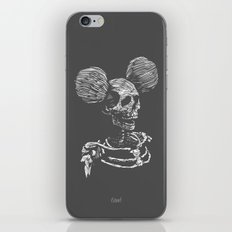 Party Skull iPhone & iPod Skin