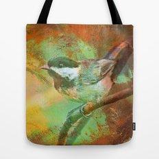 Bird II - Digital Painting Tote Bag