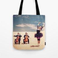 Ballet Dancer Poses En P… Tote Bag