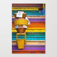 Stair Sales Canvas Print