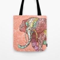 Elephant Ini Tote Bag