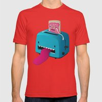 Pop Tart Mens Fitted Tee Red SMALL