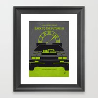 No183 My Back To The Fut… Framed Art Print