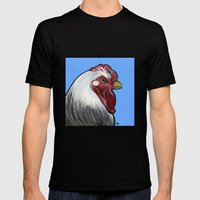 Buddy The Rooster Mens Fitted Tee Black SMALL
