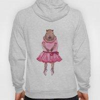 Capybara Ballerina  Hoody
