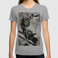 Spokeh Womens Fitted Tee Athletic Grey SMALL