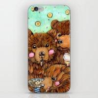 Bears with Porridge iPhone & iPod Skin