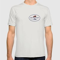 Air Kentucky Mens Fitted Tee Silver SMALL