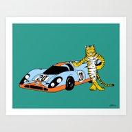 Le Mans Art Print