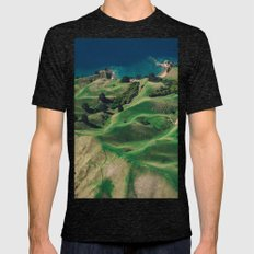 green mountain 4 Mens Fitted Tee Tri-Black SMALL