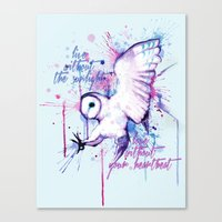 Live Without The Sunligh… Canvas Print