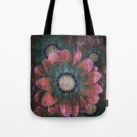 hippie flowers Tote Bag