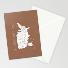 The Hand-Painted National Parks of America Stationery Cards