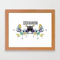 Skyrim: The Dovahkiin - … Framed Art Print