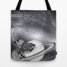 FLY ME TO THE SATURN Tote Bag