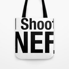 I Shoot NEF Tote Bag