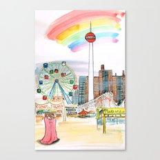 Coney Island, NYC Canvas Print