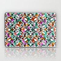 Aztec Geometric Reflection I Laptop & iPad Skin
