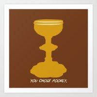 Indiana Jones - You Choo… Art Print