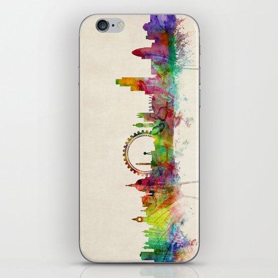 London Skyline Watercolor iPhone & iPod Skin