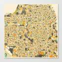 San Francisco Map Canvas Print