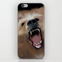 Bear Says Listen iPhone & iPod Skin