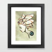 Moth 2 Framed Art Print