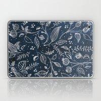 Metallic Floral Laptop & iPad Skin