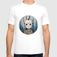 Cute Jason Voorhees  Mens Fitted Tee White SMALL