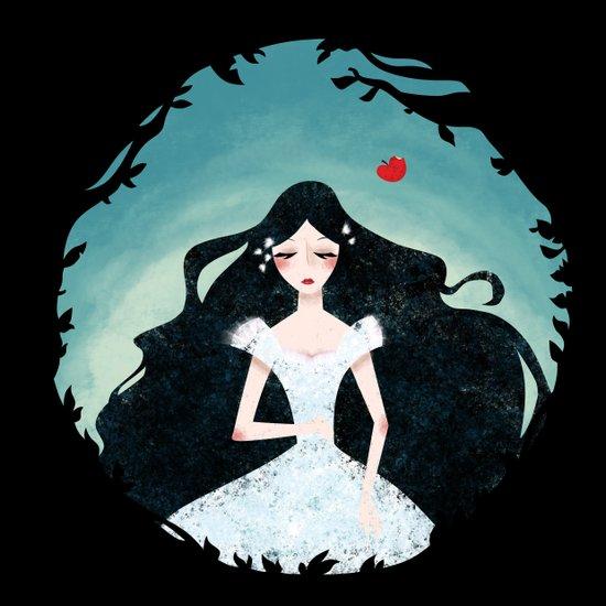 Snow White Art Print