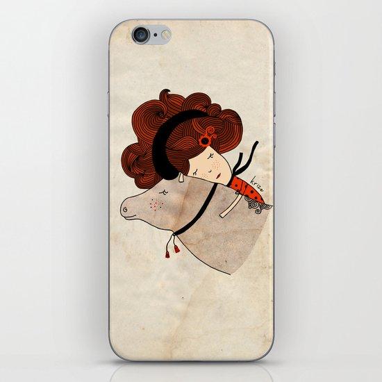 Taurus Girl iPhone & iPod Skin
