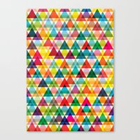 Tryangl Canvas Print