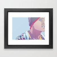 Down (Jesse Pinkman - Br… Framed Art Print