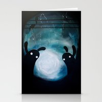mosters playground Stationery Cards